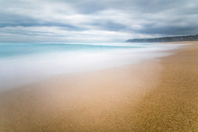 Tunquen Beach In Valparaiso Re...