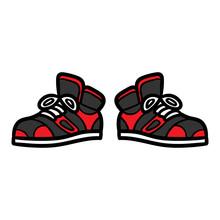 Cartoon Cool Sneakers