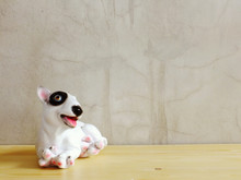 Dog Statue Ceramic With Space ...