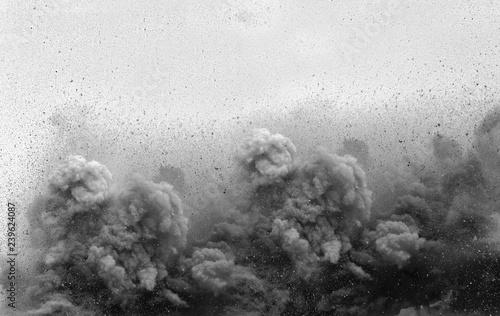 Valokuva  Blast on the mining site