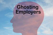 Ghosting Employers Concept