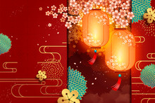 Traditional New Year Background