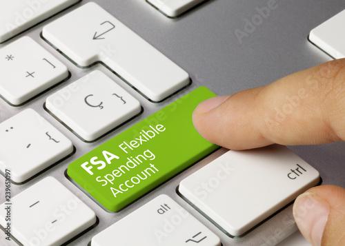 Fototapeta FSA Flexible Spending Account