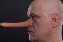 Funny Man With A Long Nose