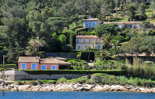 Saint Tropez; France - april 18 2016 : picturesque old city in spring Fototapeta