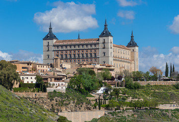 Toledo, Spain - a Unesco World Heritage Site, Toledo is a medium size city cultural influences of Christians, Muslims and Jews, well displayed in the Old Town
