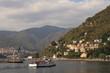 Bucht von Como mit Mole