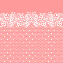 Seamless Lace Border. Vector I...