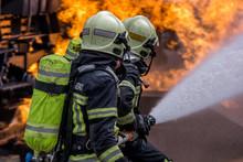 Sapeurs Pompiers En Action
