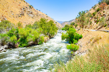 Kern River In Sequoia National Forest, California, USA