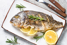 Baked Dorado Fish With Lemon A...