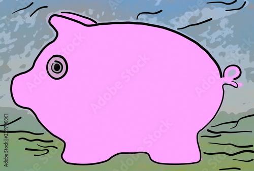 Dessin Esquisse D Un Cochon Buy This Stock Illustration