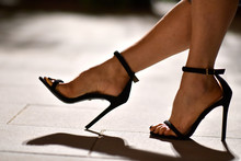 Scarpa Sandalo Femminile Da Donna Con Tacco Alto