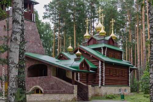russian tsar memorial temple Fototapeta