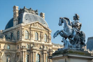 Louvre Museum in Paris, Frankreich