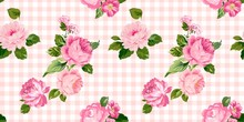 Floral Pattern. Fashion Vector...