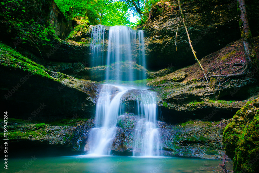 Fototapety, obrazy: Wasserfall im Allgäu