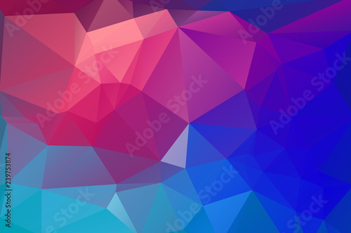 Flat color geometric triangle wallpaper