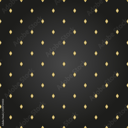 Keuken foto achterwand Leder Seamless geometric vector pattern. Modern ornament with golden elements. Geometric abstract pattern