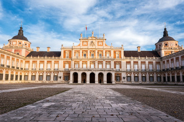 Royal palace of Aranjuez, Madrid, Spain.