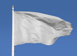 White flag waving