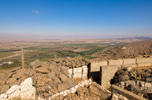 Fortifications On Mount Bental...