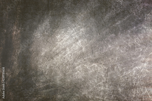 Poster de jardin Metal grey grunge structure texture wallpaper backdrop background overlay