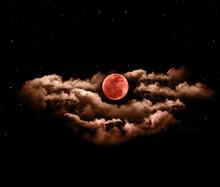Lunar Eclipse Or Blood Full Mo...