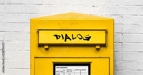 Fotomural Dialogpost