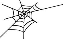 Vector Logo Spider Web In Hall...