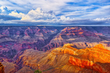 South Rim Of Grand Canyon In A...