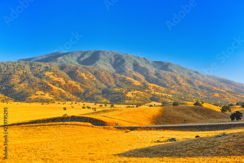 Fototapeta Beautiful scenic views of the state of Nevada. obraz na płótnie