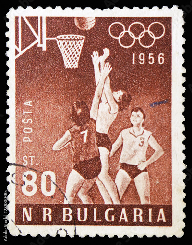 Valokuva  Basketball, Summer Olympic Games, Melbourne serie, circa 1956
