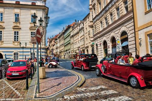 fototapeta na ścianę Prag, Tourismus