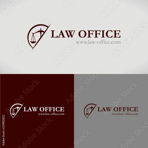 Photo logo avocat loi juge juriste conseil