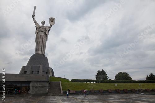 Zdjęcie XXL Macierzyństwo statua w Kijów, Ukraina