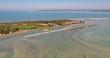 Survol de la Baie de Somme lors des grandes marées