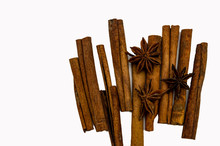 Sticks Of Cinnamon Star Anise ...