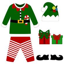 Romper Suit. Christmas Costume...