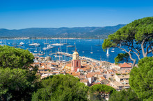 Saint-Tropez Old Town And Yach...