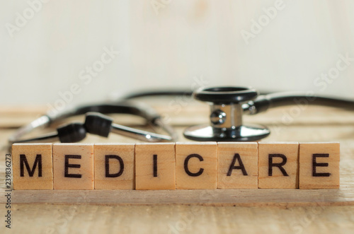 Medical and Health Care Concept, Medicare Canvas Print