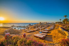 Sunrise In Sharm El Sheikh, Egypt