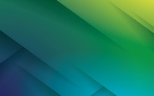 Green Abstract Geometric Scratches Background Lines