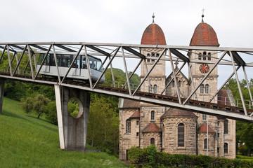 Standseilbahn Kirche Künzelsau