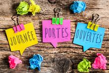 Post It Note : Journée Portes Ouvertes (français)