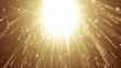 golden sparkle background light particles