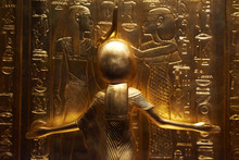 Detail View Of Ancient Egyptia...