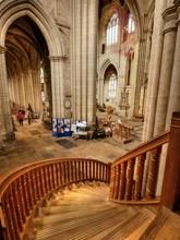 Steps Inside Ripon Cathedral I...