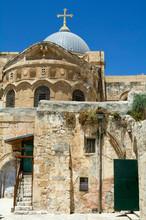 Portrait Frame - Entrance Of Church The Holy Sepulchre, Jerusalem, Israel