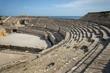 Roman amphitheatre ruins in Tarragona, Catalonia, Spain